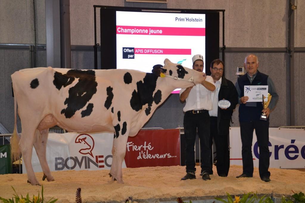 LV Hanovre Championne Jeune Tech'Élevage 2015
